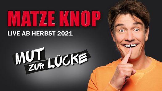"""Matze Knop: """"Mut zur L\u00fccke"""" in M\u00fcnchen"""