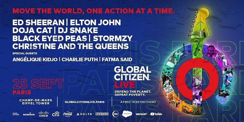 Global Citizen Paris