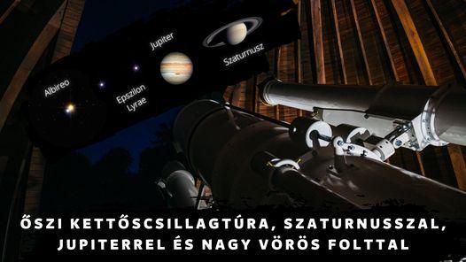 \u0150szi kett\u0151scsillagt\u00fara, Szaturnusszal, Jupiterrel \u00e9s Nagy V\u00f6r\u00f6s Folttal