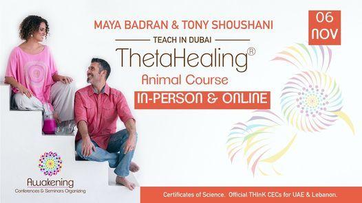 ThetaHealing\u00ae Animal Class - Dubai 2021 - Maya