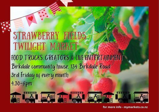 Strawberry Fields Twilight Market