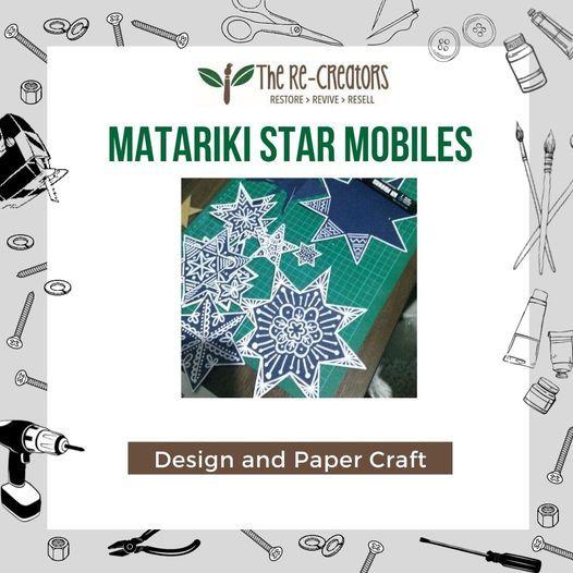 Matariki Star Mobile