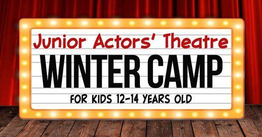 Junior Actors Winter Camp December 12 - 14 Years