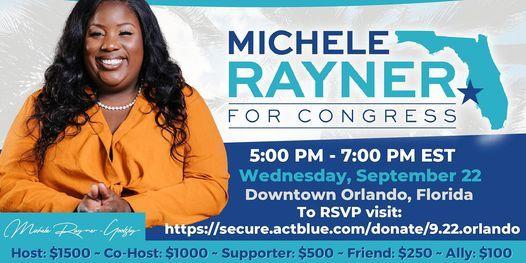 Michele Rayner for Congress Orlando Fundraiser