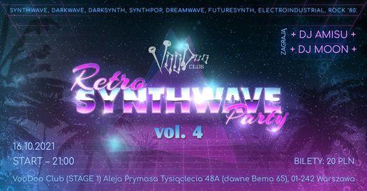 Retro Synthwave Party vol.4