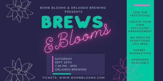 Brews & Blooms: Succulent Arrangement Workshop