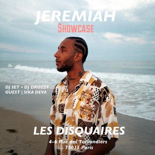 Jeremiah x Les Disquaires