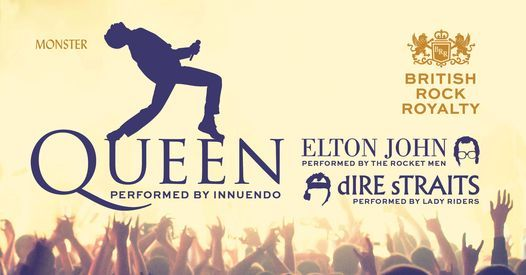 A TRIBUTE TO BRITISH ROCK ROYALTY   Queen - Elton John - Dire Straits