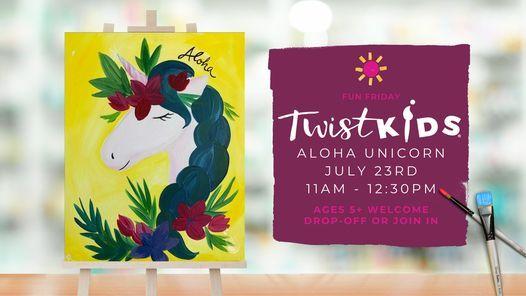 Fun Friday Aloha Unicorn