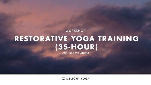 Restorative Yoga Training (35-hour)