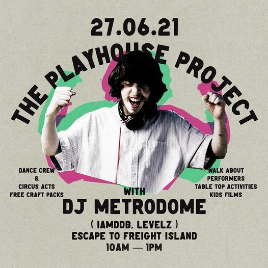 Playhouse Project X Escape to Freight Island Free Family Brunch
