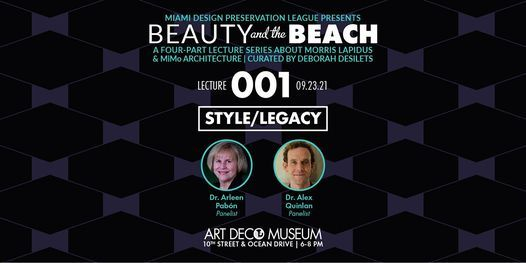 """""""Beauty and the Beach"""" Morris Lapidus : Style\/Legacy - Lecture 1"""