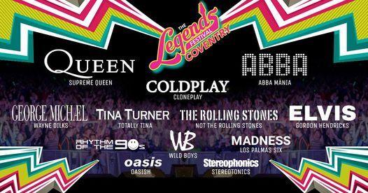 Legends Festival Coventry 2021