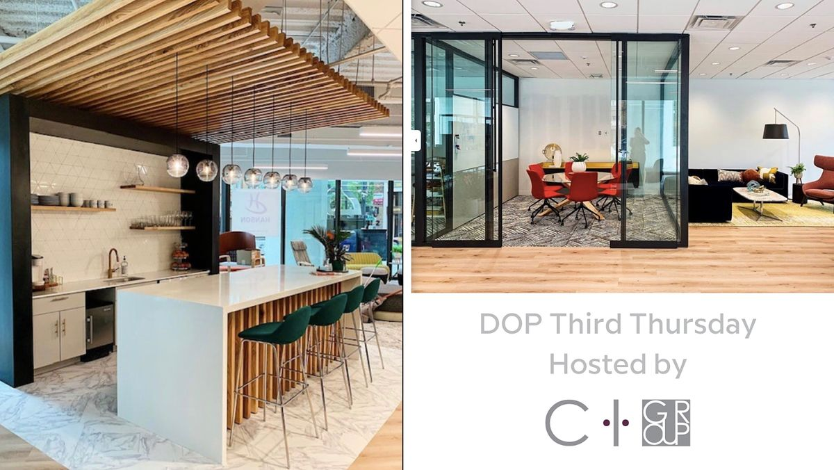 DOP Third Thursday hosted by C I Group