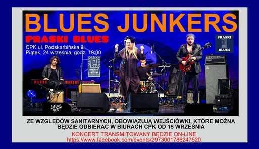 XXXIX Praski Blues. BLUES JUNKERS