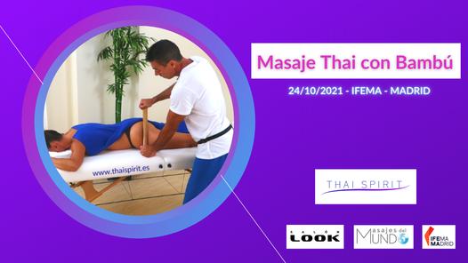 Taller Masaje Thai con Bamb\u00fa