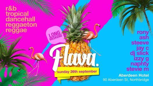 FLAVA | SUNDAY LONG WEEKEND EDITION