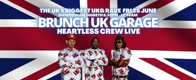 BRUNCHUKGARAGE WITH HEARTLESS CREW LIVE