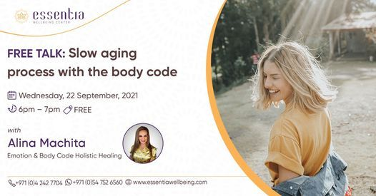 Free Talk: Slow aging process with the body code with Alina Machita
