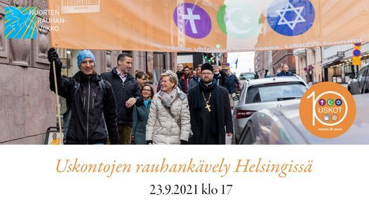 Uskontojen rauhank\u00e4vely Helsingiss\u00e4
