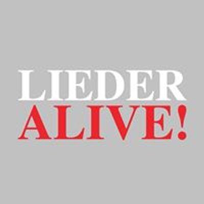 LIEDER ALIVE
