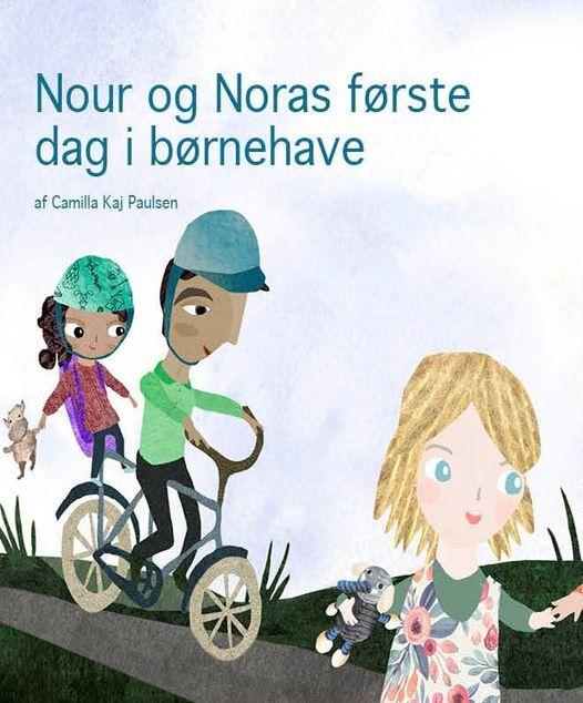 Nour og Noras f\u00f8rste dag i b\u00f8rnehave \/ Weekend for b\u00f8rn