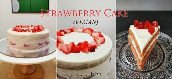 Strawberry Cake Class (Vegan)