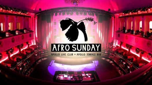 Afro Sunday 25.7. at Apollo Live Club