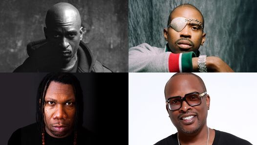 Lyricist Lounge featuring Rakim, Slick Rick, DJ Jazzy Jeff, and KRS-One