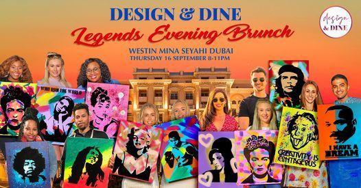 Design & Dine \u2013 LEGENDS Brunch (Dubai)