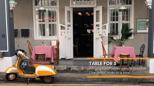 Table for 5 @ Bar Milano (15 Sep, Wed)