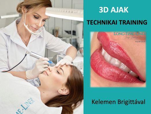 3D AJAK TECHNIKAI TRAINING