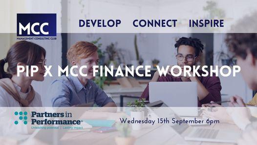 PiP x MCC Finance Workshop