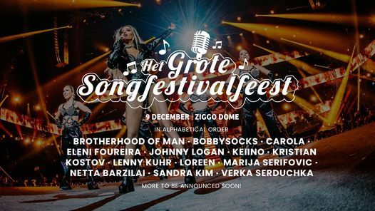 Het Grote Songfestivalfeest 2021