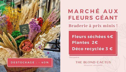 Grande braderie florale d'\u00e9t\u00e9