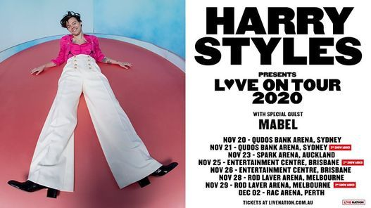 Harry Styles | Perth - Rescheduling