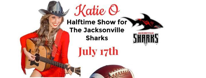 Katie O HALFTIME Show for The Jacksonville Sharks