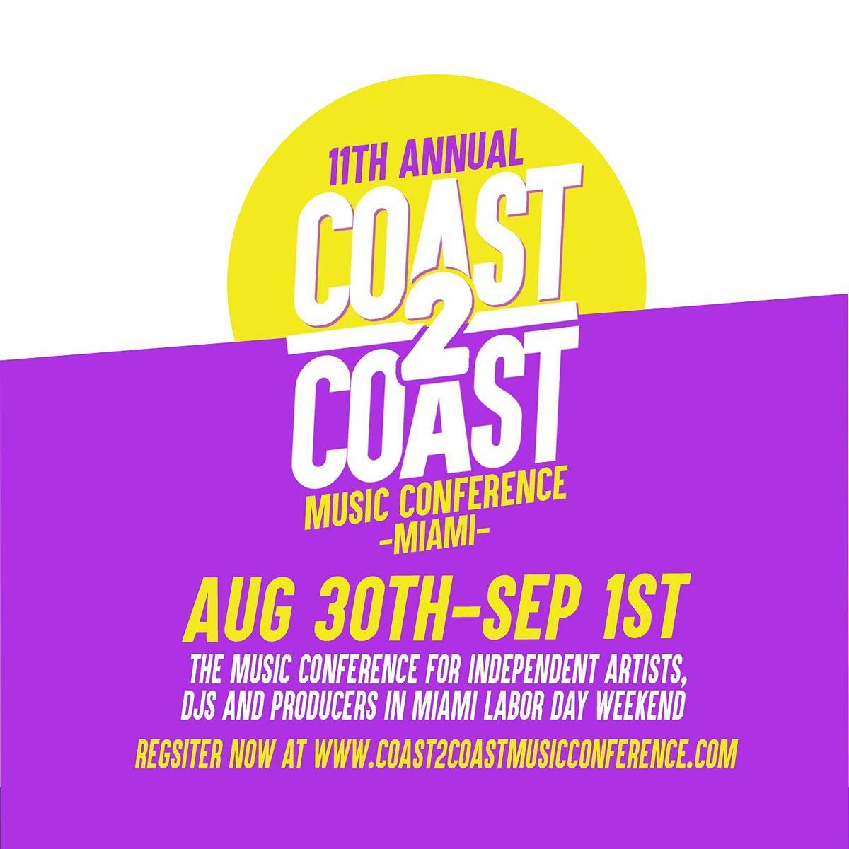 COAST 2 COAST MUSIC CONFERENCE 2021