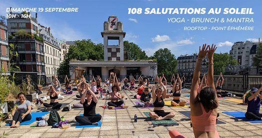 108 salutations au soleil - C\u00e9l\u00e9brons l\u2019automne ensemble