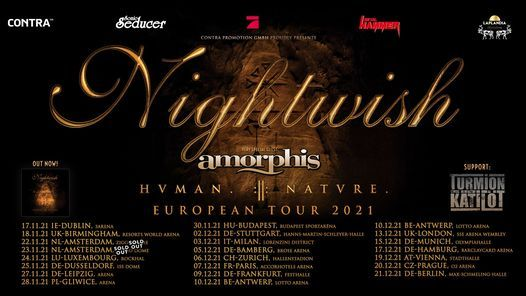 Nightwish \u2022 Amsterdam (New Date)