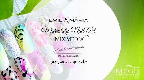 Mix media- WARSZTATY NAIL ART (sobota)!