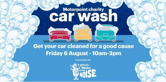 Motorpoint's Charity Car Wash