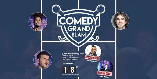 FREE ENGLISH STANDUP COMEDY - Comedy Grand Slam
