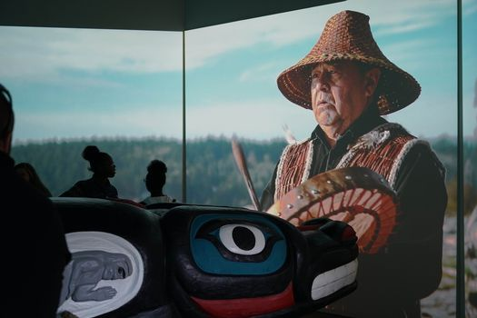 """""""Whale People: Protectors of the Sea"""" \u2022 Outdoor Exhibition & IMAX-Style Film \u2022 #Red Road to DC"""