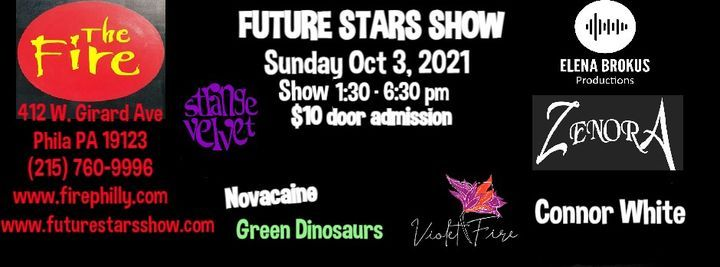 FUTURE STARS SHOW AT THE FIRE