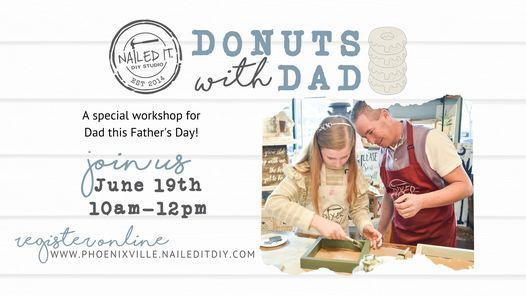 Kids Build It   Donuts with Dad