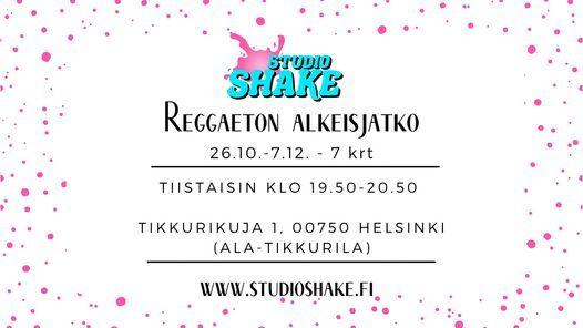 Reggaeton alkeisjatko (26.10.-7.12., 7 krt)