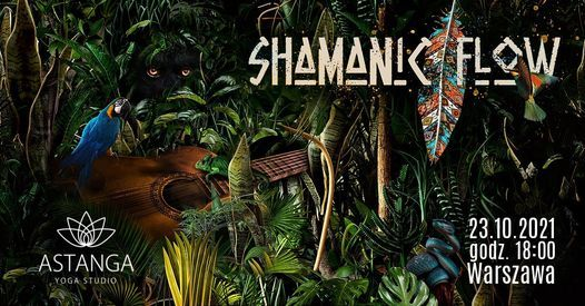 Shamanic Flow: kr\u0105g, \u015bpiew, taniec