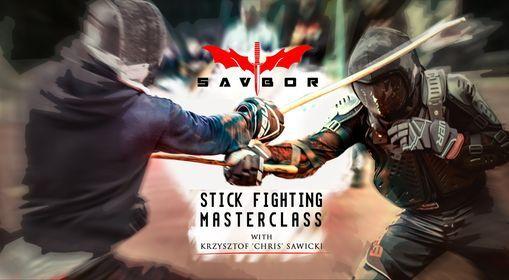 18.09.2021 - Warszawa - SAVBOR Stick Fighting Masterclass