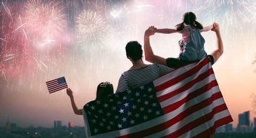 4th of July at Empire Outlets